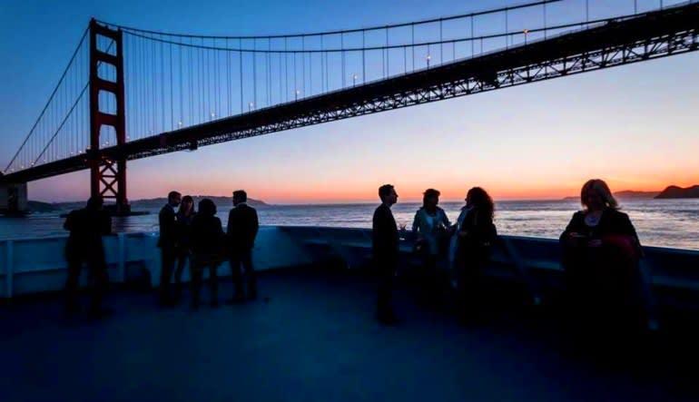 Saturday Dinner Cruise San Francisco - 3 Hours Bridge & People