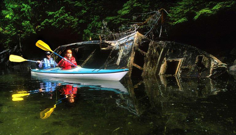 Sitka Sea Kayaking Tour - 3 Hours Old Ship Wreck