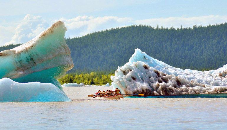 Canoe Adventure Mendenhall Glacier, Juneau - 1.5 hours Tour