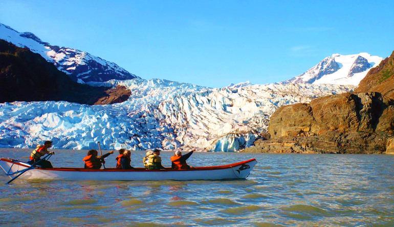 Canoe Adventure Mendenhall Glacier, Juneau - 1.5 hours  Glacier
