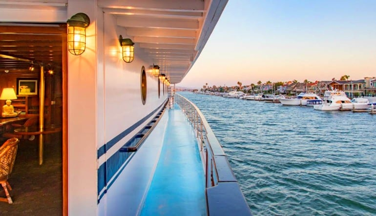 Saturday Champagne Brunch Cruise Marina Del Rey - 2 Hours Deck
