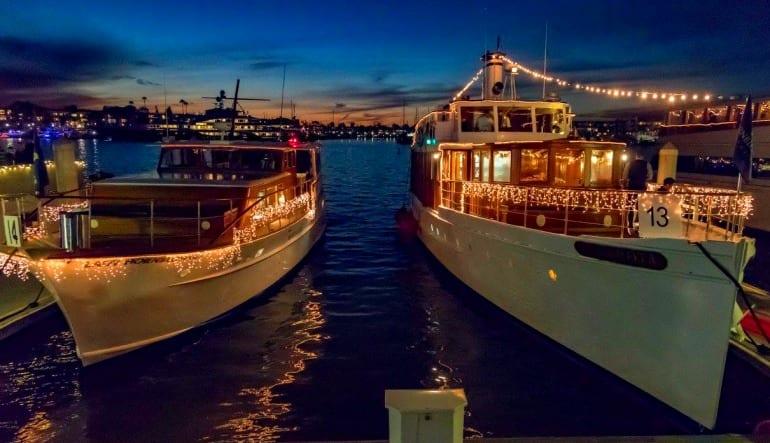 Saturday Dinner Cruise Marina Del Rey - 2.5 Hours Docked