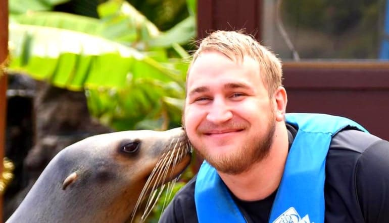 Sea Lion Swim Hawaii with Admission to Sea Life Park Man
