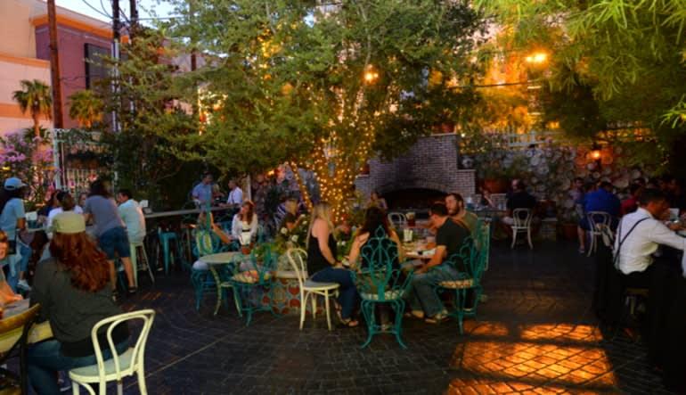 Las Vegas Foodie Walking Tour - Downtown Lip Smacking Tour Beer Garden