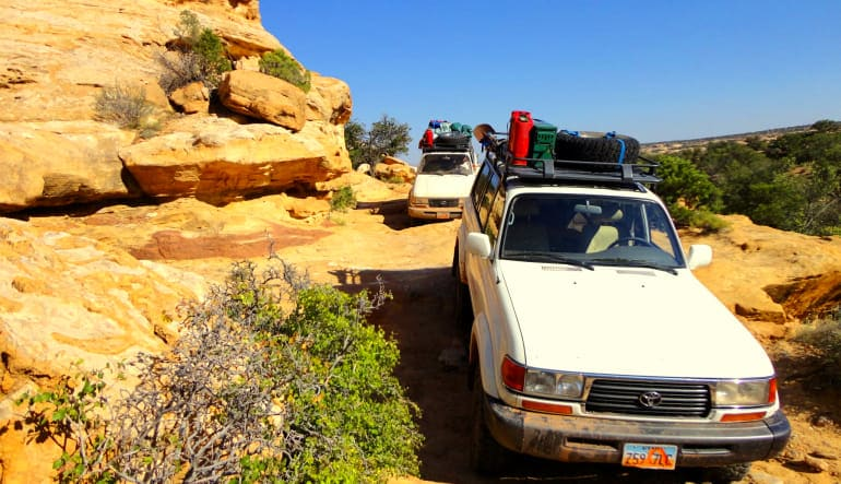 Canyonland's Island in the Sky 4x4 Tour, 4 Hours White