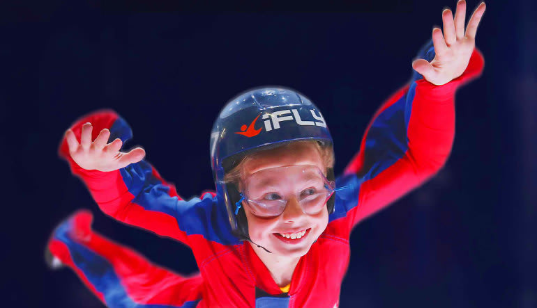 Indoor Skydiving Concord, iFLY Charlotte - 2 Flights