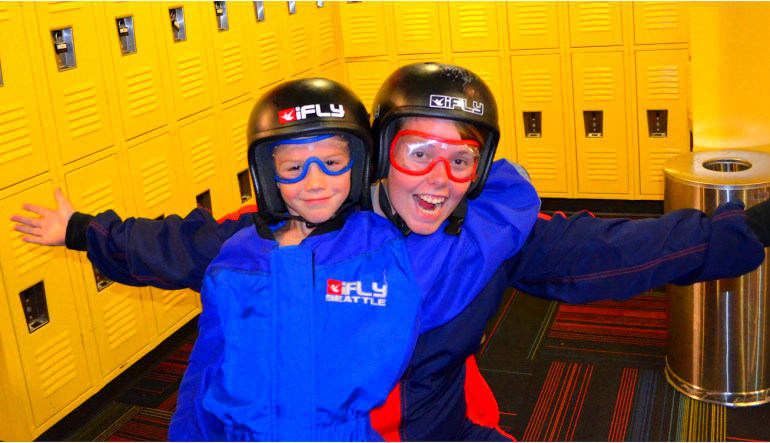 Indoor Skydiving Seattle - 2 Flights Locker Room