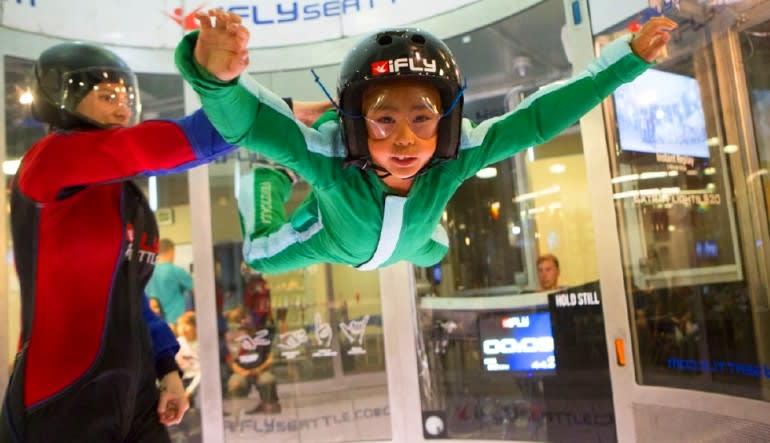 Indoor Skydiving Seattle - 2 Flights Child