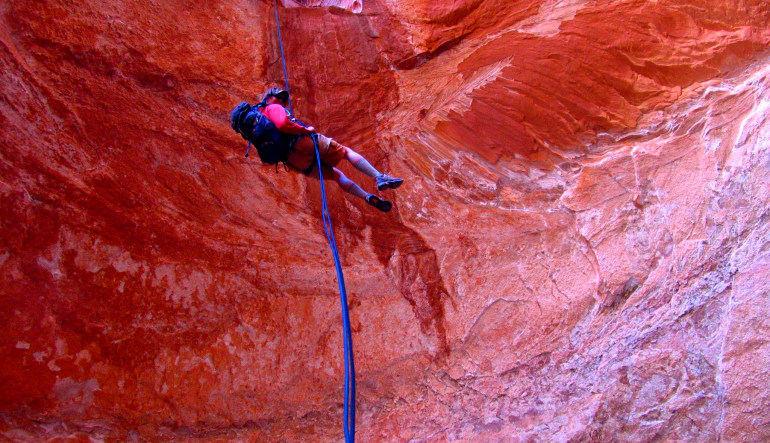 Moab Canyoneering, Half Day Trip