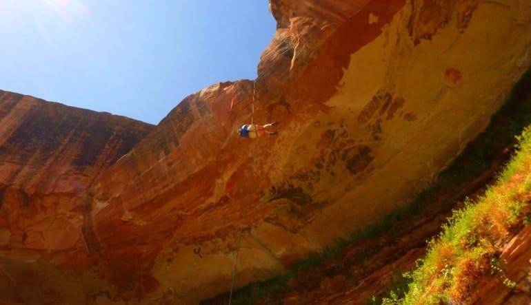 Granary Canyon Canyoneering