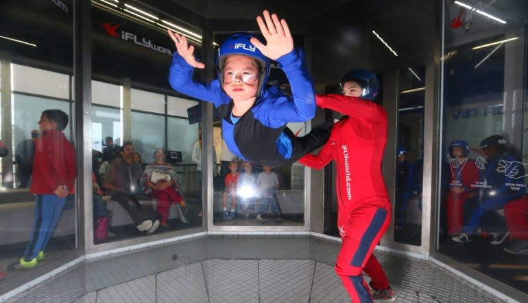 Indoor Skydiving King of Prussia Little Boy