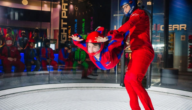 Indoor Skydiving New Jersey, Paramus - 2 Flights  Intro