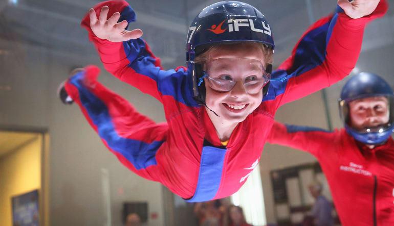 Indoor Skydiving New Jersey, Paramus - 2 Flights  Child