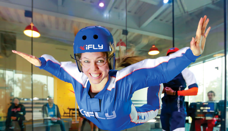 Indoor Skydiving New Jersey, Paramus - 2 Flights  Lady
