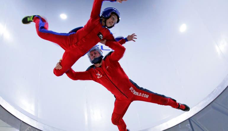 Indoor Skydiving New Jersey, Paramus - 2 Flights Instructors