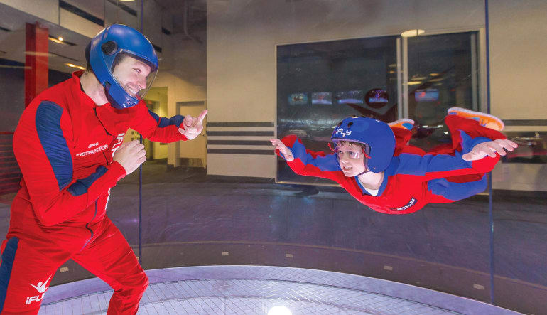 Indoor Skydiving Tampa - 2 Flights