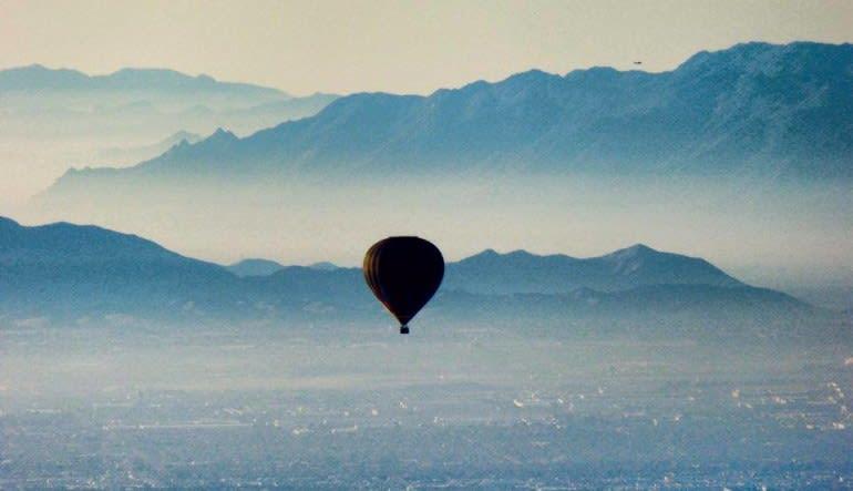 Hot Air Balloon Ride Scottsdale - 1 Hour Flight Landscape