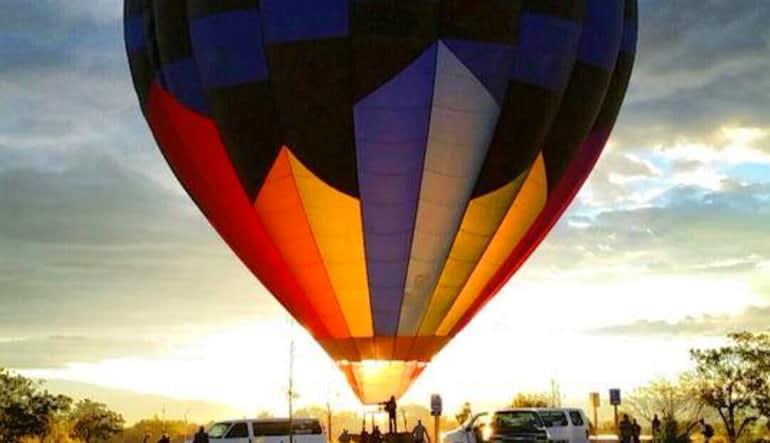 Hot Air Balloon Ride Scottsdale - 1 Hour Flight Colourful
