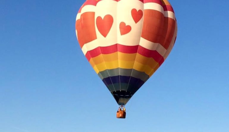 Private Hot Air Balloon Ride Las Vegas, Easy Access Basket - 1 Hour Flight Balloon