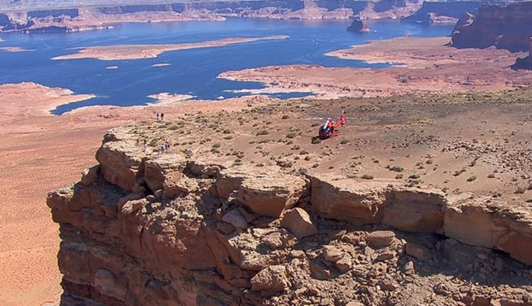 Helicopter Tour Horseshoe Bend With Tower Butte Landing, Ultimate Tour - 55 Minutes Landed