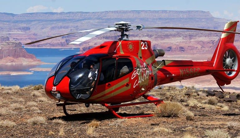 Helicopter Tour Horseshoe Bend With Tower Butte Landing, Ultimate Tour - 55 Minutes Aircraft