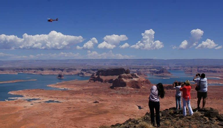 Helicopter Tour Horseshoe Bend With Tower Butte Landing, Ultimate Tour - 55 Minutes Scene