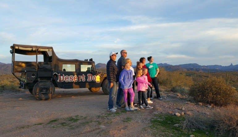 Hummer Tour Phoenix, Fountain Hills - 3 Hours Group