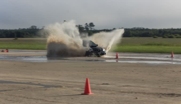 Rally Cross 4WD Driving Course, Starke - Full Day Water Spray