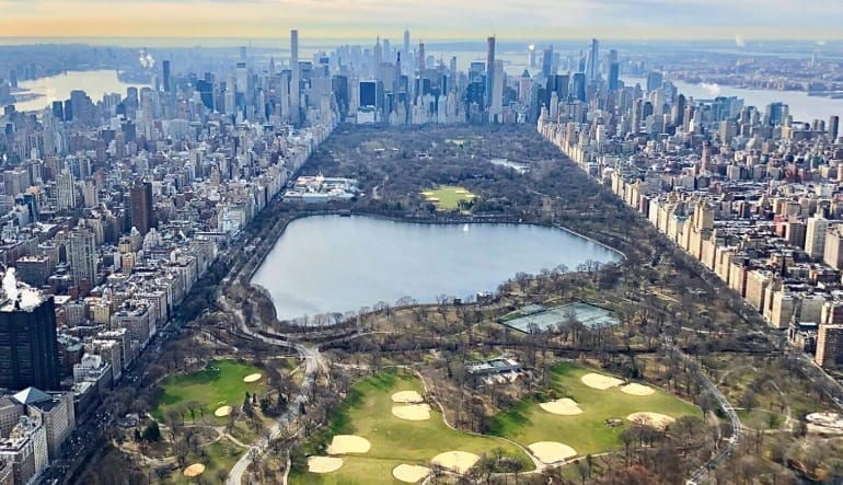 New York City Helicopter Ride, New York, New York Tour Central Park