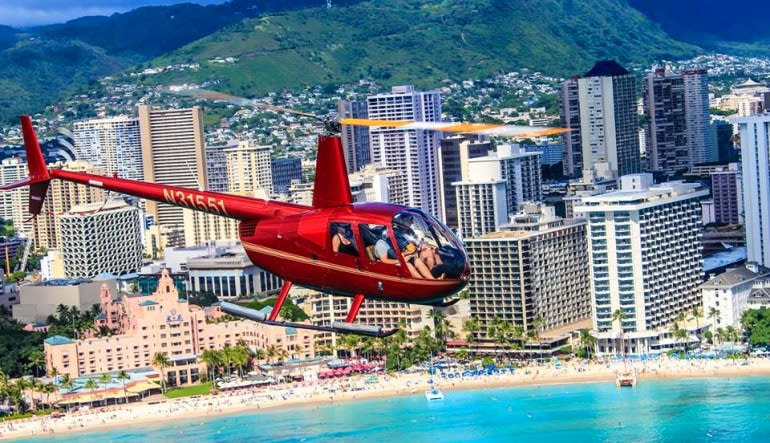 Private Helicopter Tour Oahu, VIP Experience - 1 Hour (Includes Waikiki Hotel Shuttle)