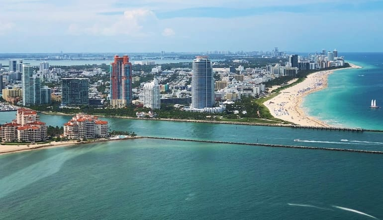 Helicopter Tour Miami, Private Ride - 25 Minutes Coast