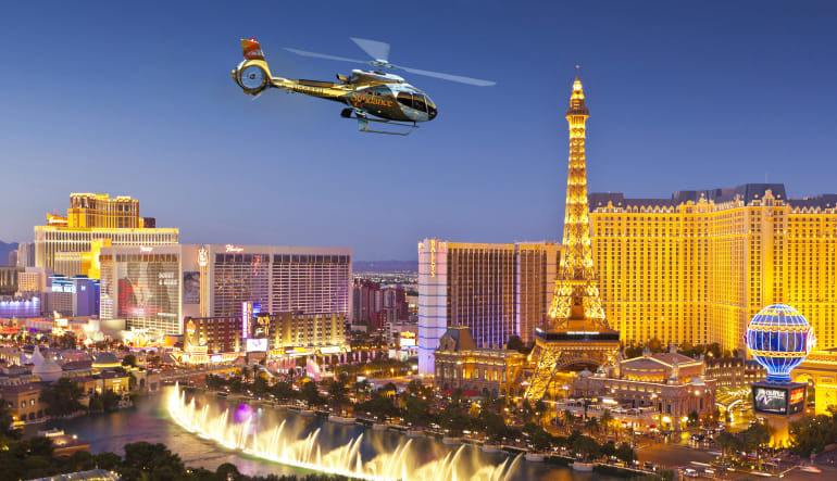 Las Vegas Helicopter Ride, City Lights Tour Lights