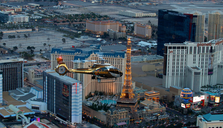 Las Vegas Helicopter Ride, City Lights Tour