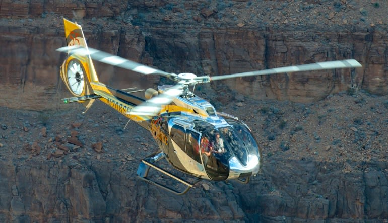 Grand Canyon Escape EC-130 Helicopter Tour - 2.5 Hours Aircraft