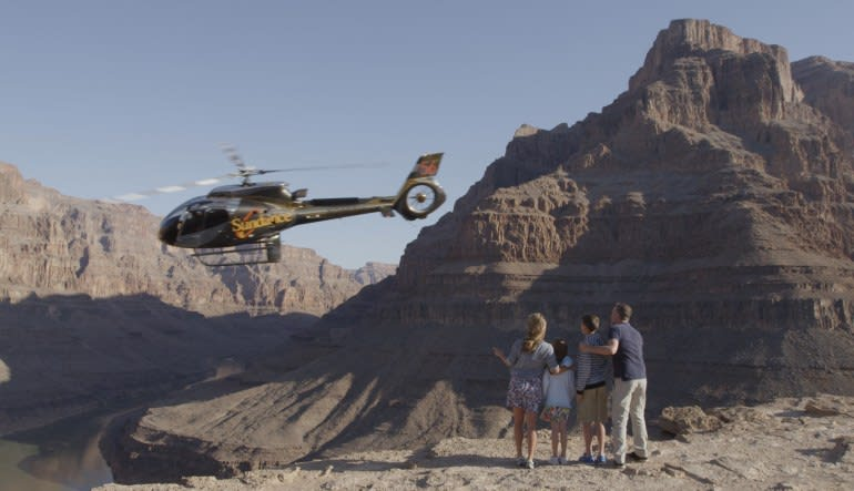 Grand Canyon Escape EC-130 Helicopter Tour - 2.5 Hours Family