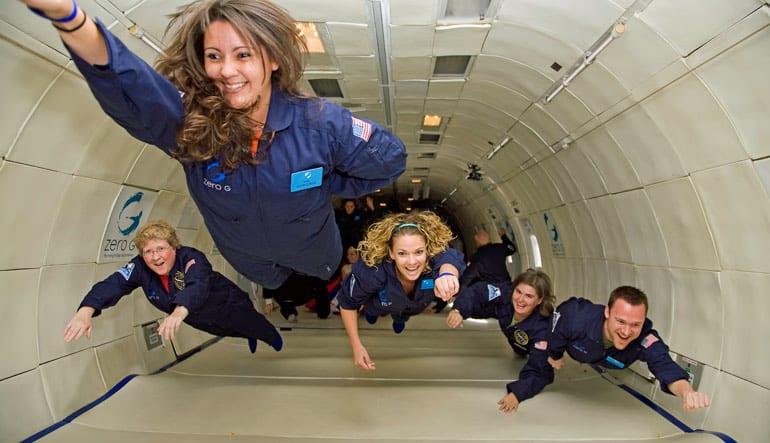 ZERO-G Reduced-Gravity Flight - Las Vegas