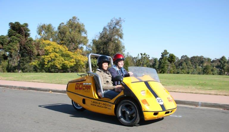 GoCar Tour San Diego - 2 hour Zoom
