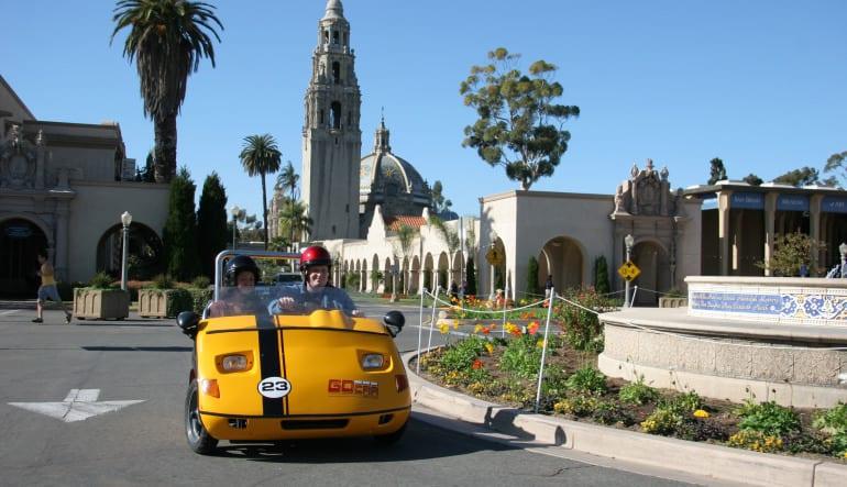GoCar Tour San Diego - 1 hour Zoom