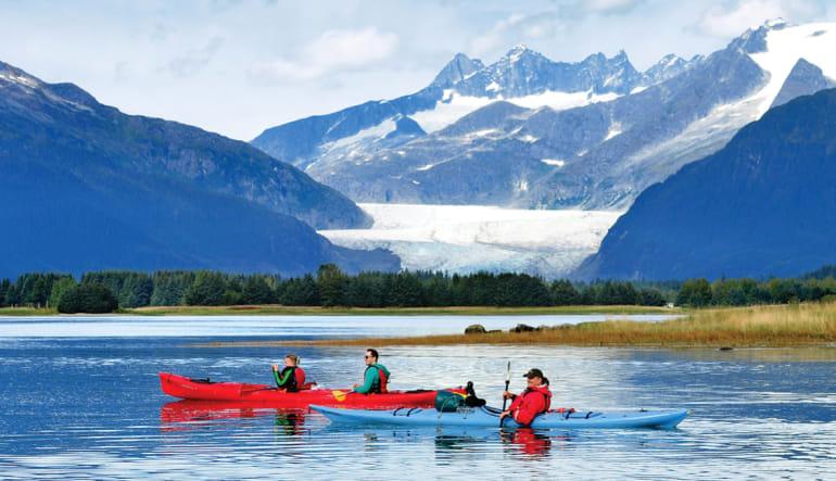 Kayaking Mendenhall Glacier View Tour, Juneau - 3.5 hours Mountains
