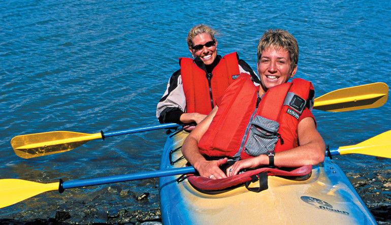 Kayaking Mendenhall Glacier View Tour, Juneau - 3.5 hours Couple