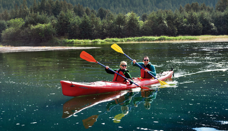 Kayaking Mendenhall Glacier View Tour, Juneau - 3.5 hours Paddle
