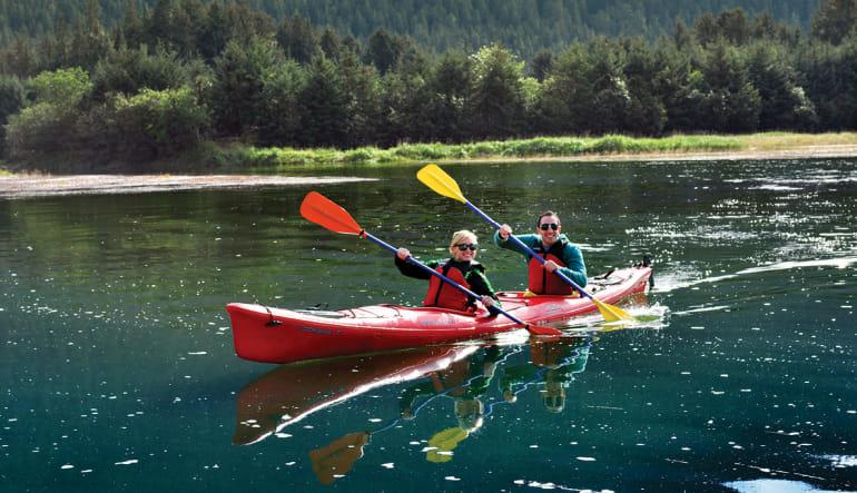 Kayaking Mendenhall Glacier View Tour, Juneau - 3.5 hours Paddle