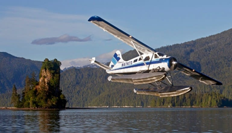 Ketchikan Scenic Seaplane Flight and Crab Feast Soaring