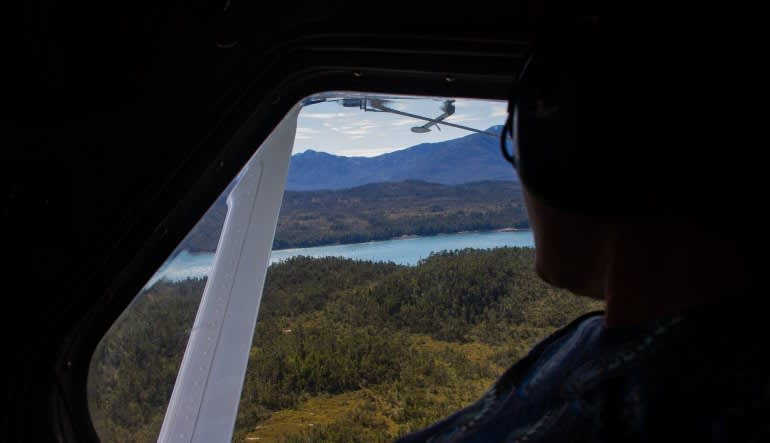 Ketchikan Scenic Seaplane Flight and Crab Feast Looking Out