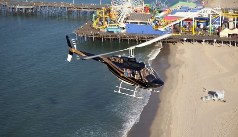 Private Helicopter Ride, Los Angeles - 1 Hour and 45 Minutes