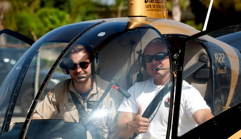 Private Helicopter Ride, Los Angeles - 1 Hour and 45 Minutes Passenger