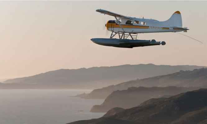 San Francisco Seaplane Ride, Norcal Coastal Tour - 1 Hour  Plane