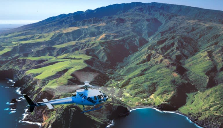 Helicopter Tour Maui, West Maui and Molokai - 1 Hour