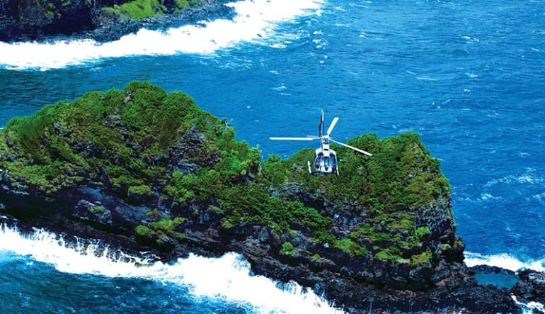 Helicopter Tour Maui, Hana Rainforest Flight - 70 Minutes Jurrasic