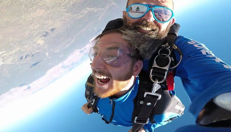 Skydive the Grand Canyon - 15,000ft Jump Free Fall